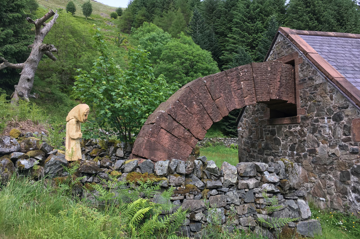 Striding Arches Andy Goldsworthy