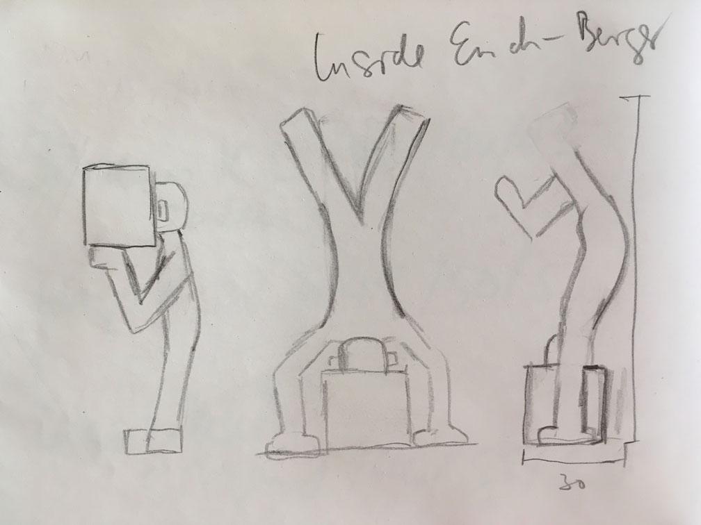 initiale Idee (Skizze)